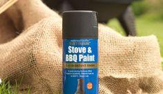 Spray paint a chiminea with Rust-Oleum spray paint