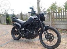 Transalp custom made into ratbike #hondatransalp #600XLV