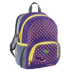 Step by Step Junior Dressy Kindergartenrucksack Purple Cherry