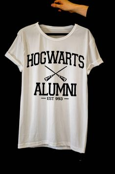 aa6d933f83 Hogwarts Alumni tshirt Harry Potter Tshirt Funny Tshirts
