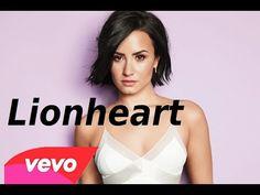 """Traduction de """"Cœur de lion"""" (Lionheart) Demi Lovato - YouTube Demi Lovato, Lion, Celebs, Leo, Lions"""