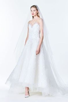 Carolina Herrera Autumn/Winter 2017 Bridal Collection - click through to see the collection in full