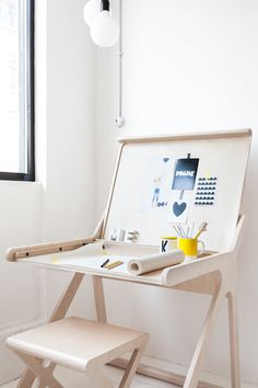 AprilandMay MINI: K desk by Rafa-kids. Visit AMAMILLO.com