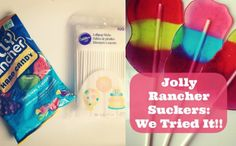 Can't wait to give these a go - Jolly Rancher Lollipops
