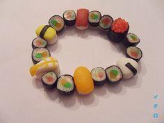 Sushi Bracelet by LeIchirokun.deviantart.com on @DeviantArt