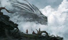 Dragon God, Jorge Jacinto on ArtStation at https://www.artstation.com/artwork/v21aE