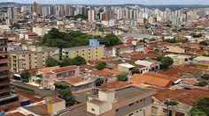 Vista da cidade de Ribeirão Preto, São Paulo