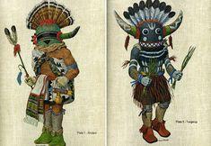 Portfolio of Hopi Kachinas