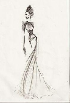 Luis Alberto Berrendero(diseñador)-Ilustración Dior