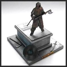 Lord of the Rings - Balin's Tomb Free Papercraft Download - http://www.papercraftsquare.com/lord-rings-balins-tomb-free-papercraft-download.html