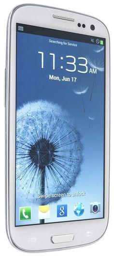 Samsung Galaxy S III SCH-S968C 16GB White (Straight Talk) Smartphone Great #Samsung #Bar