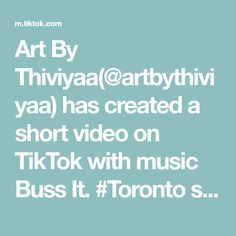 Art By Thiviyaa(@artbythiviyaa) has created a short video on TikTok with music Buss It. #Toronto skyline & UK together, custom. painting#art #bussitchallenge #viral #fyp #bussit #artist #painting #artbythiviyaa #art #vibes #artwork Toronto Skyline, Busses, Artist Painting, Paintings, Create, Music, Artwork, Musica, Musik