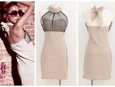 Temptation Tie Neck Dress