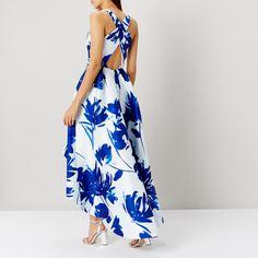 ROSEANNA BLUE PRINTED DRESS