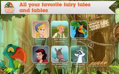 """Tales with GiGi is the mobile storytelling app for kids, which will come in handy next time you hear the words """"Read for me, mommy (or daddy)! Funny Apps, Storytelling App, 13 Month Old, Popular Stories, Reading Skills, Beauty And The Beast, Crow, Childhood Memories, Fairy Tales"""