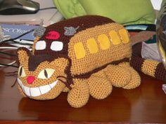 Amigurumi Toys Story Totoro and Cat bus kitten Crochet by getfun