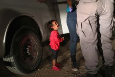 An audio recording in which migrant children in the US can be heard crying for their parents has been released as US President Donald Trump remains defiant o. Donald Trump, Trump Immigration, Crying Girl, Parents, Toddler Photos, Fathers Say, 2 Year Olds, Before Us, American History