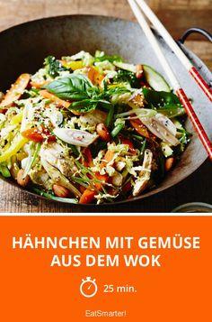 Hähnchen mit Gemüse aus dem Wok - smarter - Zeit: 25 Min. | eatsmarter.de
