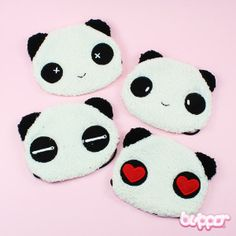 Cute panda mouth mask to protect yourself and others from nasty flying bacteria. Japanese Eyes, Anime Merchandise, Kawaii Shop, Cute Panda, Mouth Mask, Sleep Mask, Japanese Fashion, Hello Kitty, Super Cute