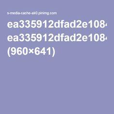 ea335912dfad2e1084caf2cda4b5dadf.jpg (960×641)
