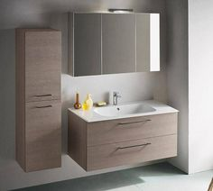 Mobile bagno con lavabo ad incasso Atlantic - ARREDACLICK | bagno ...