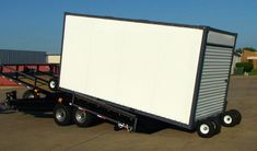 Roll off trailers, tilt deck trailers, roll off container trailers - Mobile Container Sales