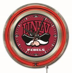 Use this Exclusive coupon code: PINFIVE to receive an additional 5% off the University of Nevada Las Vegas 15 Inch Neon Logo Clock at SportsFansPlus.com