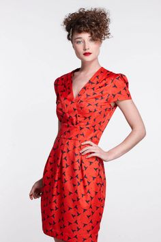 """Thornbill Dress - Loving the """"Hi There"""" collection from Karen Walker."""