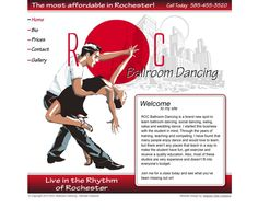 Dancing Website