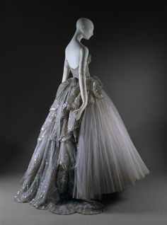 """Christian Dior (French, 1905-1957). """"Venus"""" Evening Gown, fall/winter 1949-50. The Metropolitan Museum of Art, New York."""