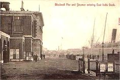 East India Dock, Blackwall Pier