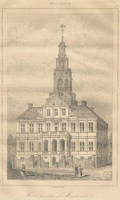 Stadhuis Maastricht 1884