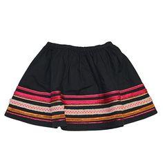 Bonpoint Black Ribbon Skirt