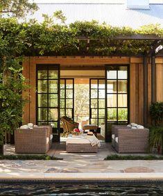Outdoor patio home decor ideas. 58 Flawless Interior Ideas To Copy Today – Outdoor patio home decor ideas. Design Exterior, Interior And Exterior, Outdoor Rooms, Outdoor Living, Outdoor Decor, Indoor Outdoor, Pergola, Gazebo, Garden Cottage
