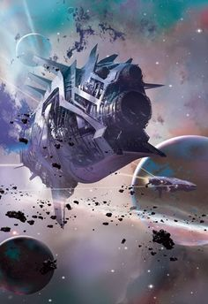 Beautiful Science Fiction, Fantasy and Horror art from all over the world. Spaceship Art, Spaceship Design, Spaceship Concept, Concept Ships, Concept Art, Spaceship Images, Fantasy Kunst, Sci Fi Fantasy, Fantasy World