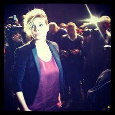 Emma Marrone ospite alle sfilate milanesi #TIMYoung #MFW