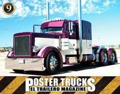 Truck Poster August  Edition #109. See our Truck Posters at http://eltraileromagazine.com/camiones-galeria.php?utm_content=bufferd7c09&utm_medium=social&utm_source=pinterest.com&utm_campaign=buffer?