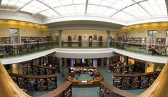 Vic State Library Reading Room Pano