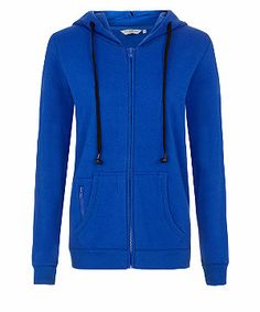 Free delivery available today - Shop the latest trends with New Look's range of women's, men's and teen fashion. Monster High Party, Blue Hoodie, Gorgeous Women, Teen Fashion, New Look, Latest Trends, Zip, Hoodies, Lady