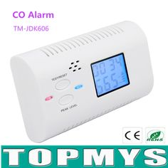 check price carbon monoxide detector alarm sensor without battery co detector with lcd display voice prompt #gas #sensor
