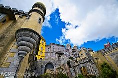 Visiting Pena National Palace, Sintra, Portugal - UNESCO site
