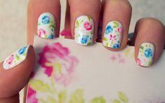 Summer nails! CUTE
