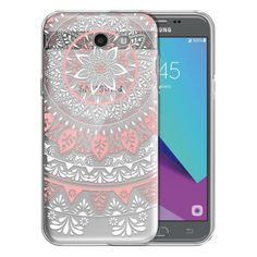For Samsung Galaxy J3 Emerge J327 Transparent Clear TPU Case Cover Protective