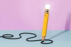 Ilumine sua vida e sua imaginação com essa lâmpada de lápis