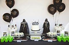 Star Wars Party: Jedi Jaxon's Star Wars 4th Birthday Party | Mimi's Dollhouse