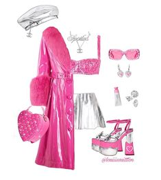 Kpop Outfits, Retro Outfits, Stylish Outfits, Girl Outfits, Fashion Outfits, Stage Outfits, Swag Girl Style, Preppy Style, V Neck Cocktail Dress