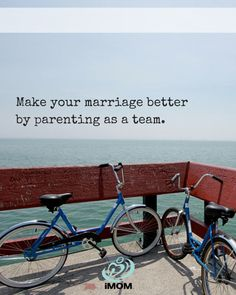 Make your marriage better by parenting as a team.