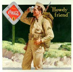 La companyia Coca Cola va aprofitar un periode de conflicte per a , mitjançant les relacions publiques, crear una necesitat de beure la beguda manifestant la seva capacitat de revitalització del esperit dels soldats.