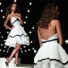 white prom dress