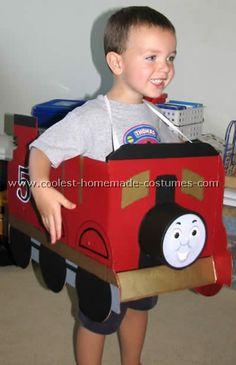 Coolest Homemade Thomas the Train Halloween Costume Ideas
